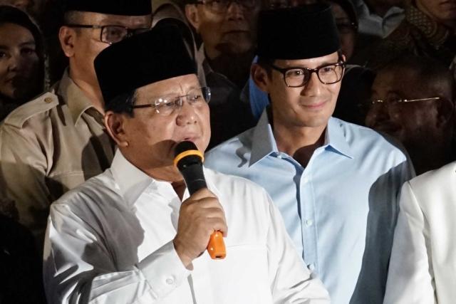 Isu Mahar Politik Ancam Tingkat Keterpilihan Prabowo-Sandi