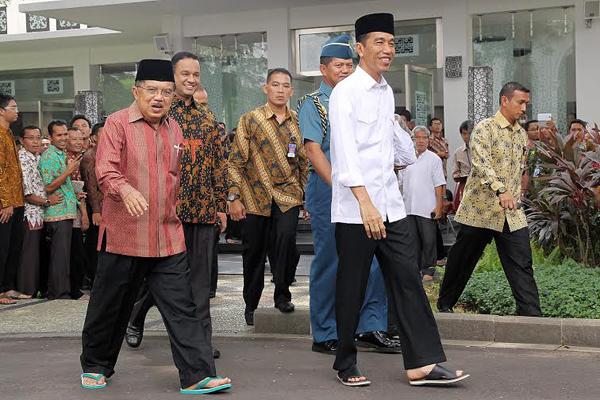 Doakan Korban Gempa di Lombok, Jokowi-JK Gelar Salat Gaib