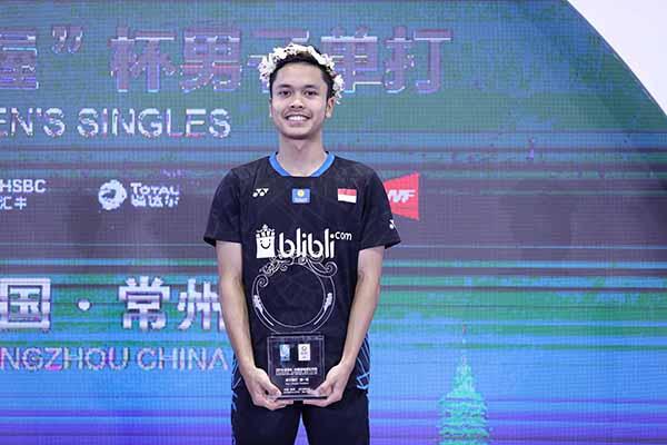 Anthony Ginting Juara China Open 2018, Jokowi Berikan Ucapan Selamat