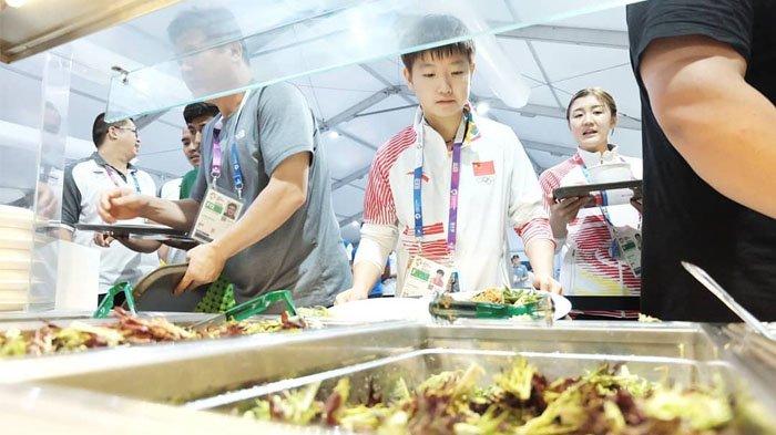 Atlet puas pelayanan dan makanan Indonesia