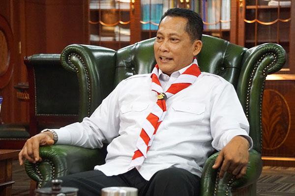 Buwas Direstui Jokowi Maju Jadi Calon Ketua Kwarnas Gerakan Pramuka