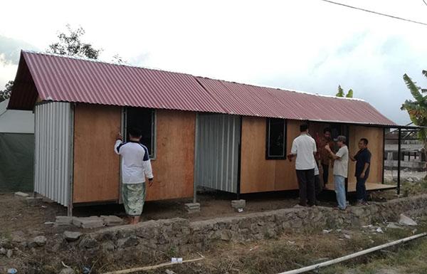 Galang Dana Huntara, DPR Targetkan 1000 Unit Hunian untuk Pengungsi Gempa