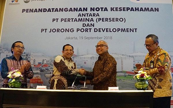 Pertamina Sediakan Energi untuk Kawasan Ekonomi Khusus Jorong Port Development