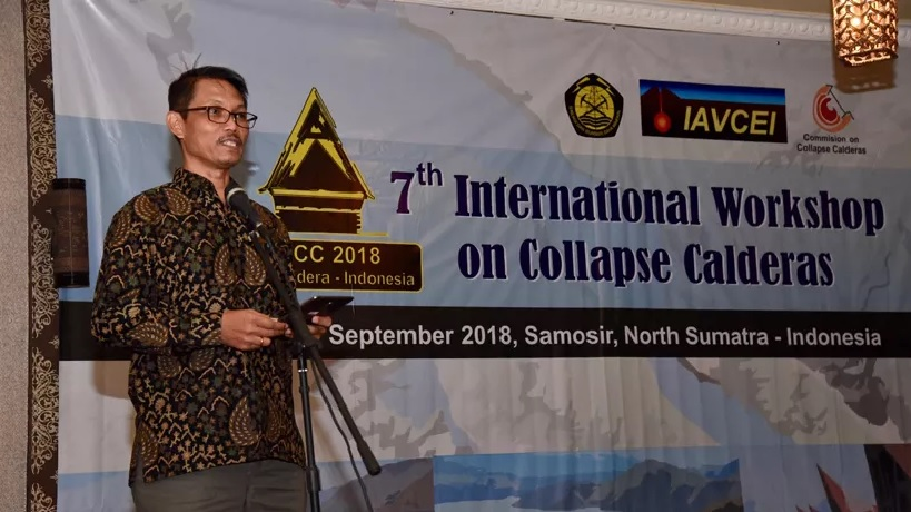 The 7th International Workshop on Collapsed Calderas Resmi Dibuka