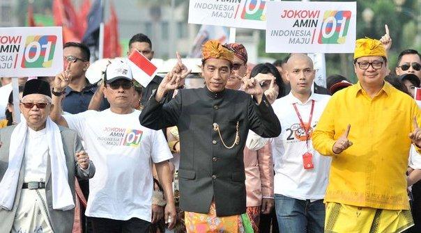 Ketua Umum Golkar Pastikan Tak Ada Kampanye Hitam dalam Memenangkan Jokowi-Ma'ruf