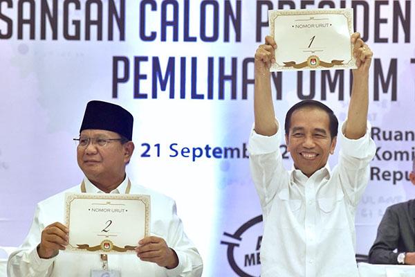 Visi Misi Jokowi, survei internal, framing politik, median, Jokowi-Maruf