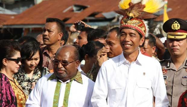Tiga juta suara untuk Jokowi dari Papua, Target kemenangan