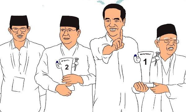 Jokowi Dorong Persahabatan dalam Kampanye Damai