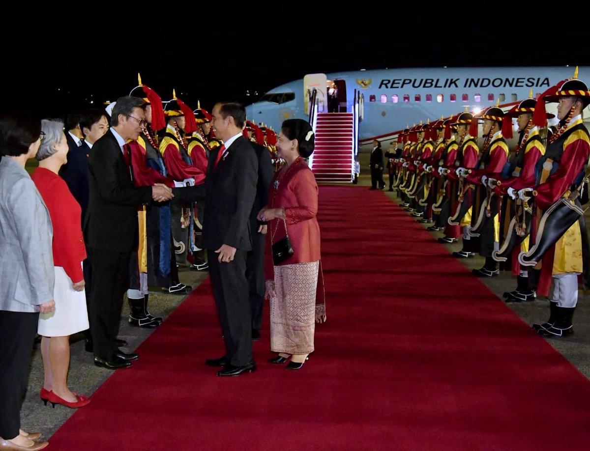 Di Korsel, Presiden Jokowi Luncurkan Portal Peduli WNI