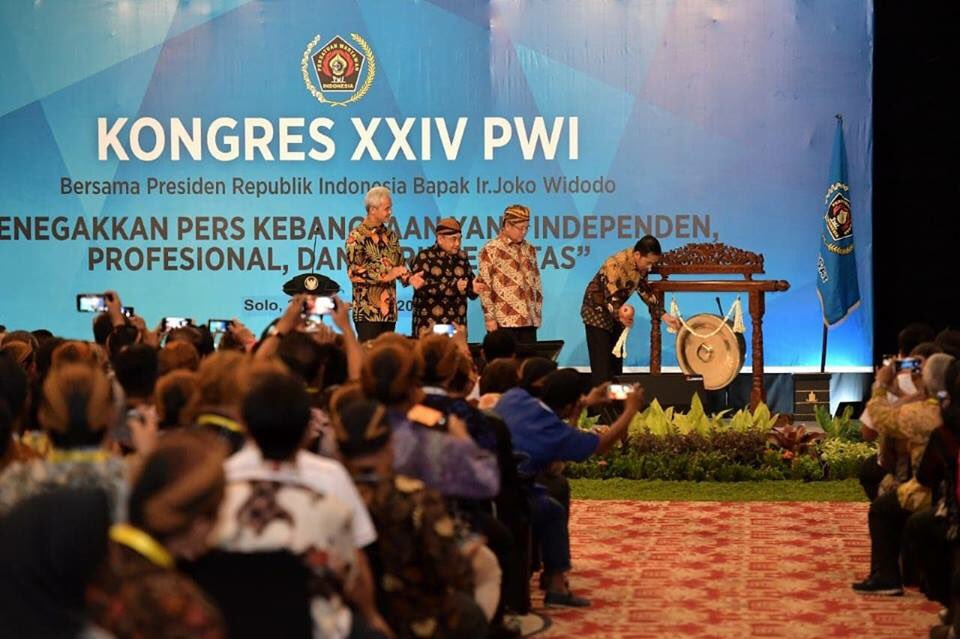 Jokowi Ajak Wartawan Perangi Hoax