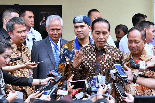 Jelang Pemilu 2019, Jokowi Minta Masyarakat Coblos Pemimpin Terbaik