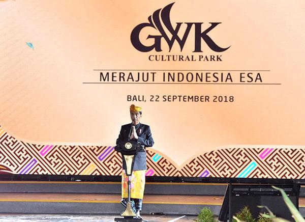 Presiden Jokowi: Patung Garuda Wisnu Kencana Mahakarya Anak Bangsa