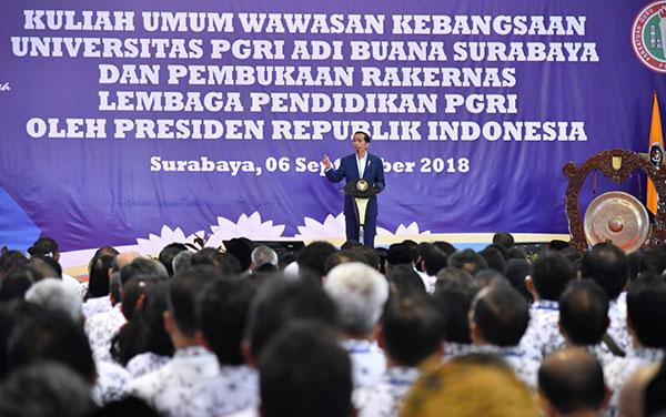 Presiden: Keberhasilan Negara dan Pemerintah Ditentukan dengan SDM yang Berkualitas