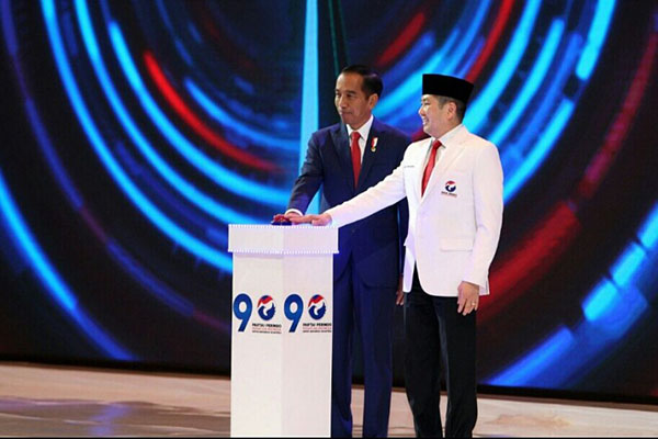 Jokowi Minta Caleg Perindo Turun Langsung ke Masyarakat Saat Kampanye