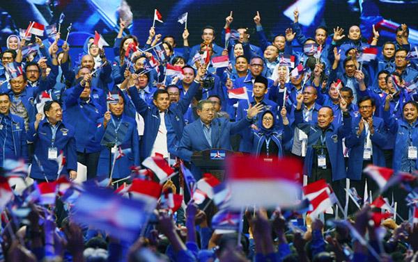 Survei Internal Demokrat: Kader Jatim Tertinggi Dukung Jokowi