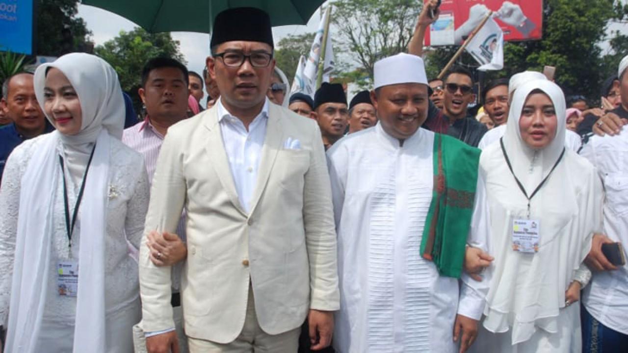 Ridwan Kamil dan Uu Siap Jadi Dewan Pengarah TKD Jokowi-Ma'ruf Jabar