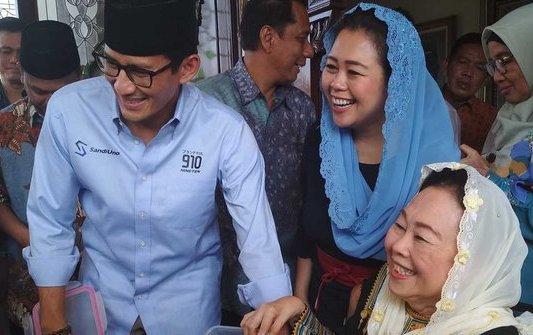 Hanura Tidak Khawatir Sandiaga Mendekati Yenny Wahid