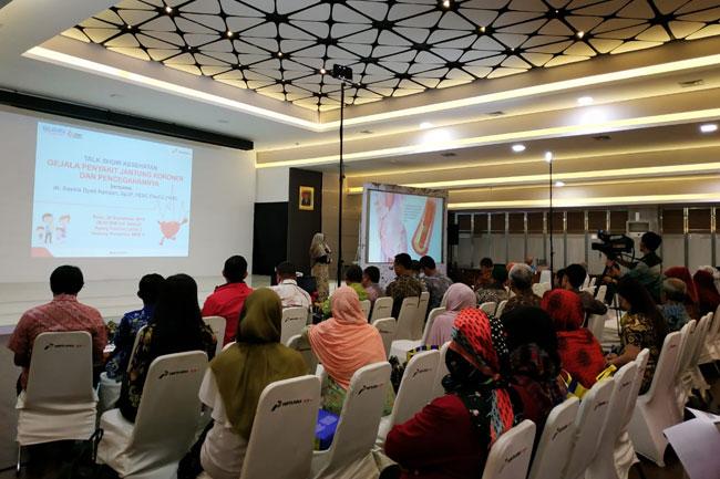 Pertamina Mengadakan Talkshow Kesehatan Untuk Mengetahui Gejala Jantung Koroner dan Cara Mencegahnya