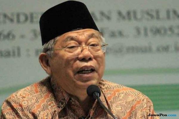 Soal Isu Jokowi PKI, Ma'ruf Amin: Itu Tidak Benar