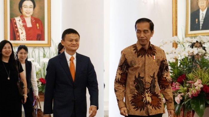 Jokowi ke Jack Ma: Saya Harus Lompat dari Motor di Asian Games