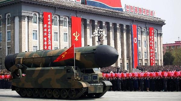 Meriahnya Parade Militer Korea Utara saat Rayakan Kemerdekaan