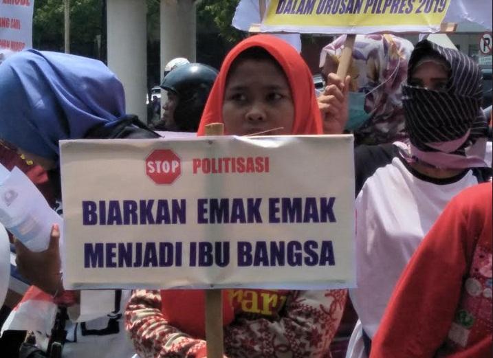 politisasi kaum emak-emak