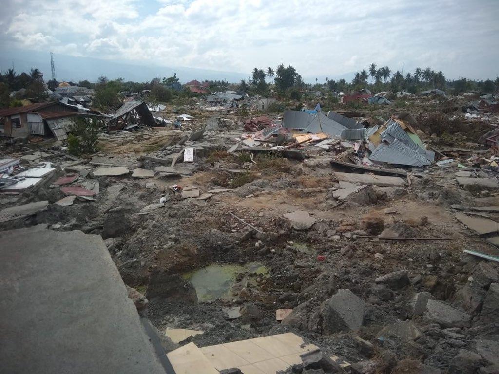 Aksi Solidaritas Korban Bencana Alam Warnai Pertemuan IMF-WB