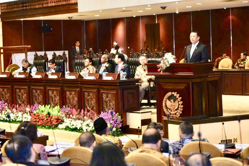 Pada Inaugural Conference IAPP Bamsoet Tegaskan Pancasila Pemersatu Bangsa