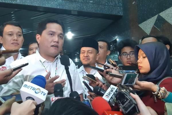 Prabowo Kritik Kebijakan Jokowi Ugal-ugalan, Ini Tanggapan Erick Thohir