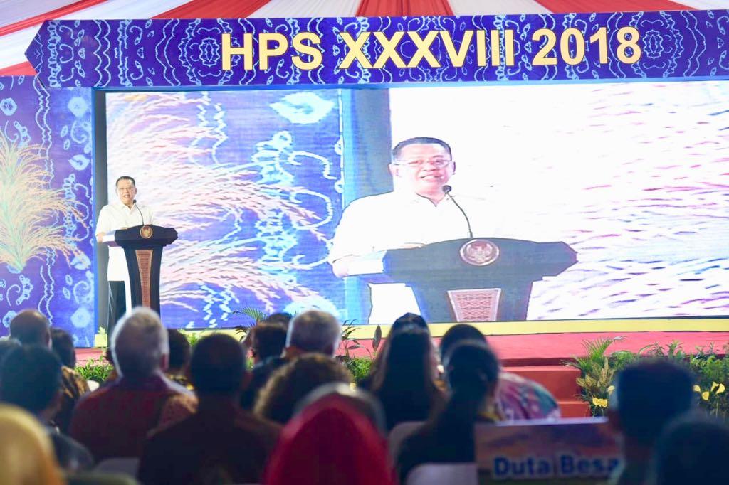 Hari Pangan Sedunia ke-38, Bamsoet Mengagumi Upaya Presiden Jokowi