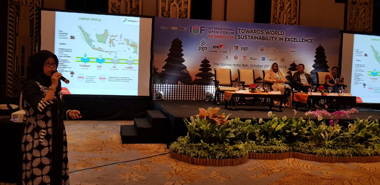 Pertamina EP Sharing dalam International Open Forum 2018