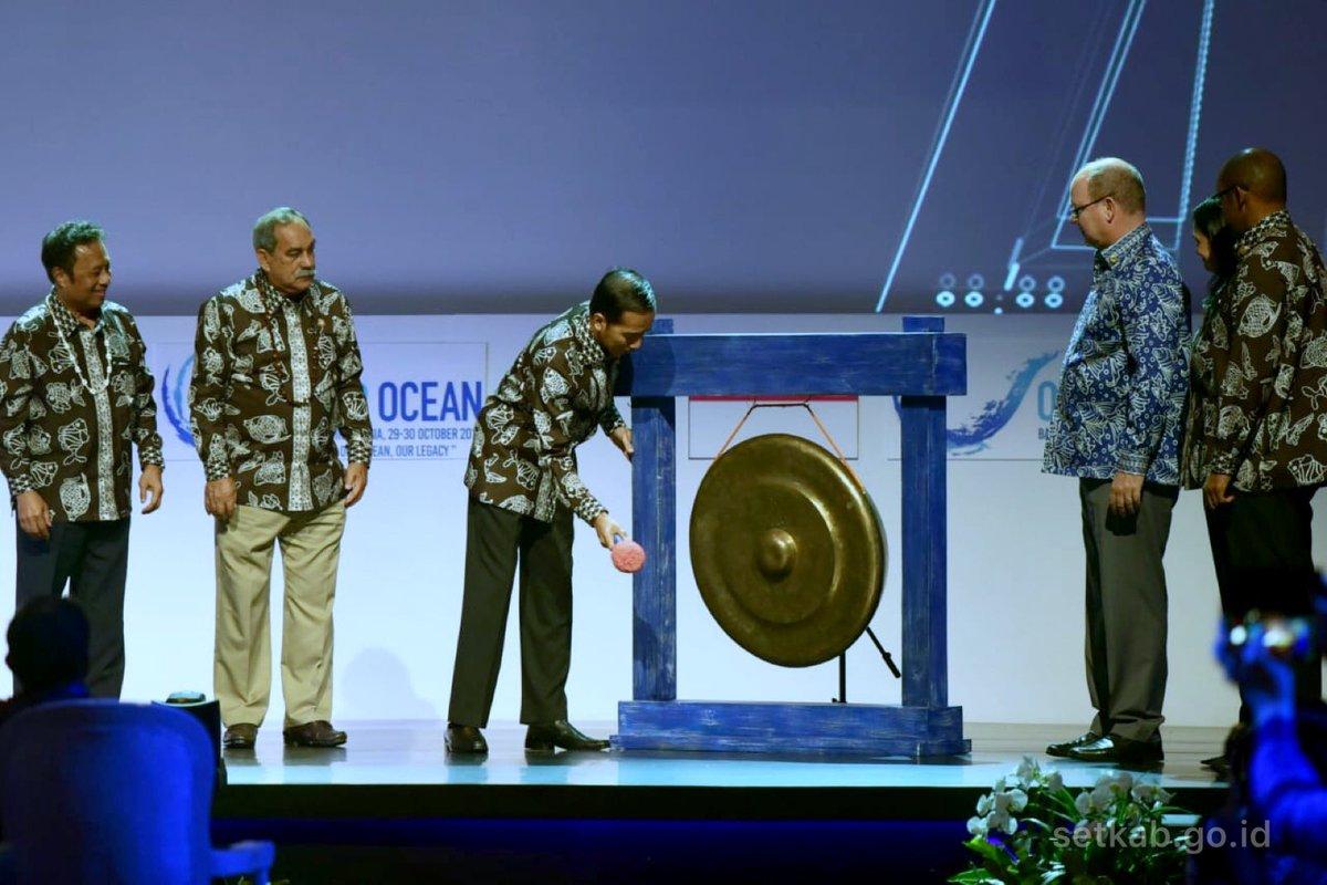 Jokowi: Indonesia Penuhi Target Konservasi Laut Lebih Awal