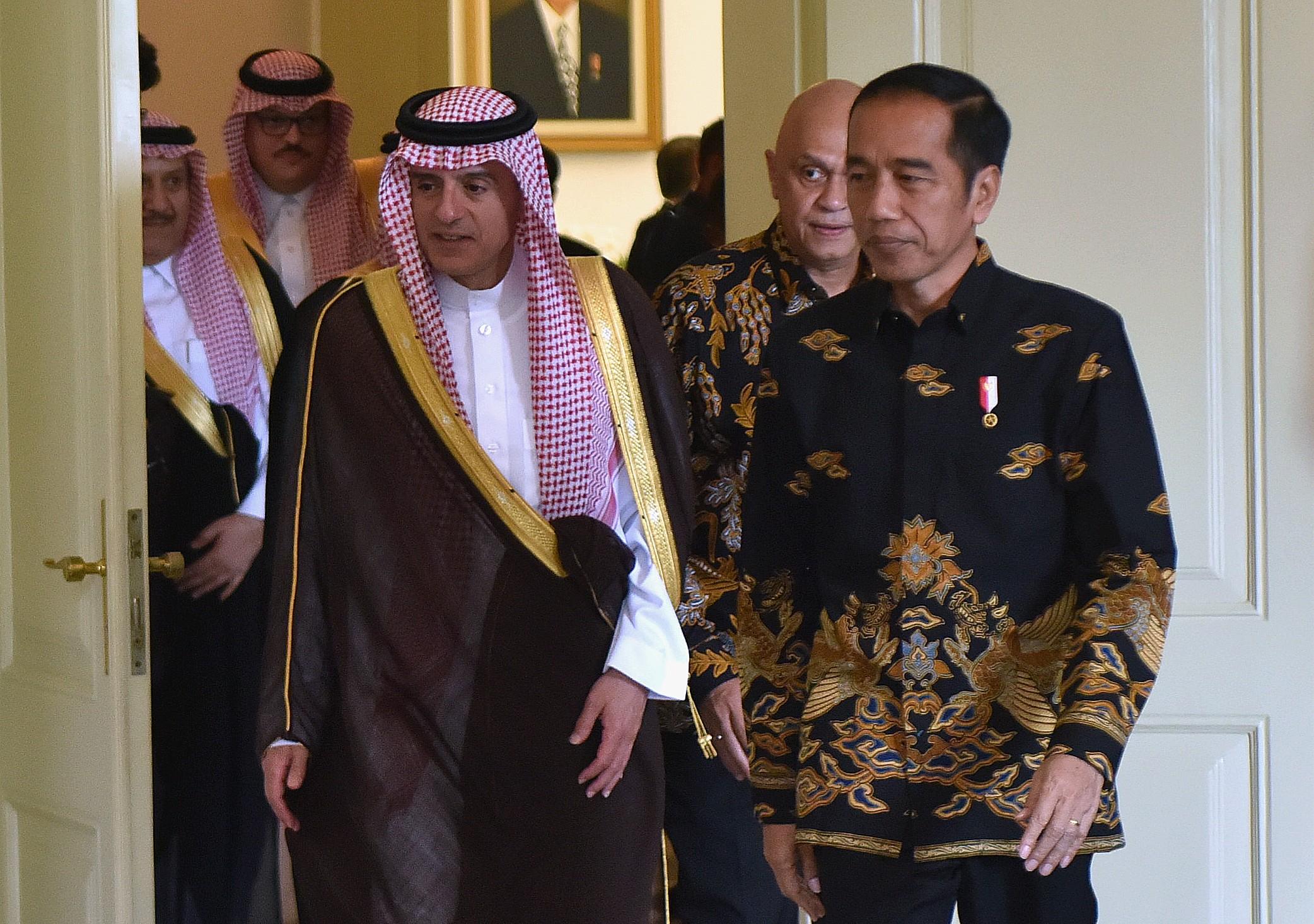 Presiden Jokowi Singgung Soal Khashoggi di Depan Menlu Arab Saudi