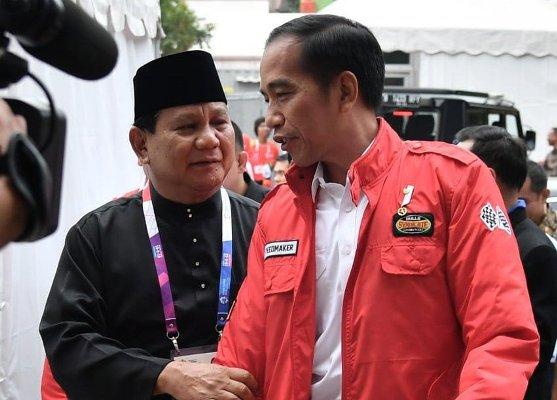 Jokowi Ucapkan Selamat Ulang Tahun ke-67 ke Prabowo Subianto