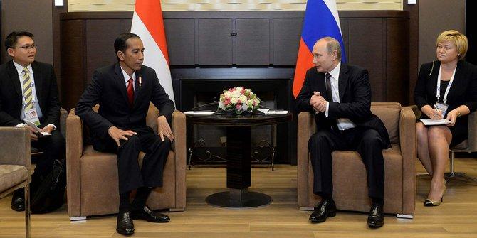Di Russia-ASEAN Summit Rencananya Putin Bertemu Jokowi
