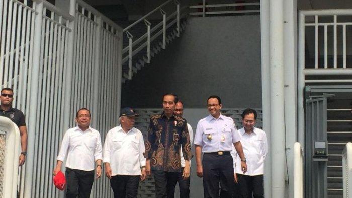 Presiden Jokowi Tinjau Fasilitas Umum Penyandang Disabilitas di GBK