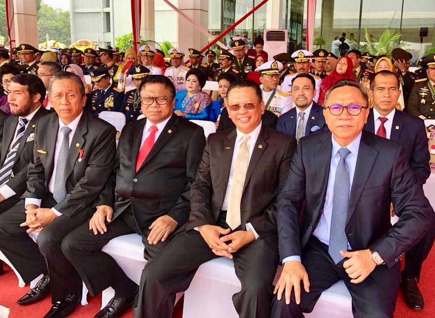 Bamsoet: Prajurit TNI Menjadi Benteng Kedaulatan Negara