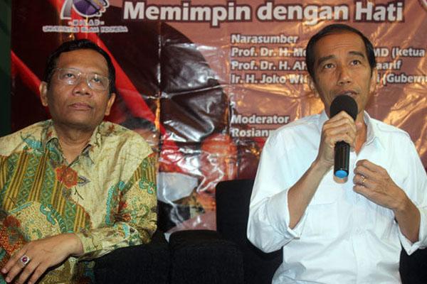 Ma'ruf Amin Ungkap Sinyal Mahfud MD Dukung Jokowi
