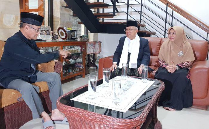 Pertemuan Kiai Maruf dan Buya Syafii Maarif Hasilkan Komitmen Islam Berkemajuan