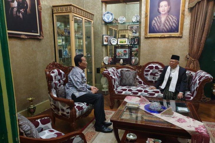 Maruf Amin Diserang Hoaks, Tetap Jalani Agenda