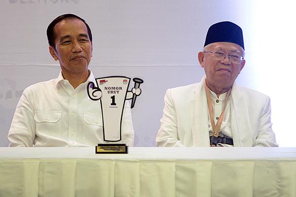 Para Tokoh Pesantren Jabar Dukung Jokowi-Ma'ruf Amin
