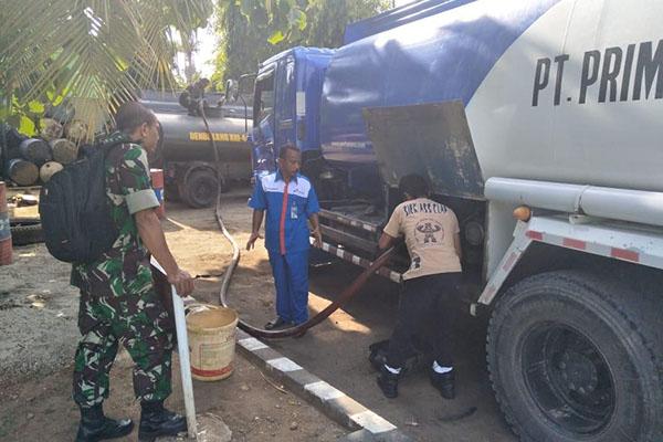 Dukung Pemulihan Infrastruktur, Pertamina Salurkan 450 Ribu Liter BBM Industri