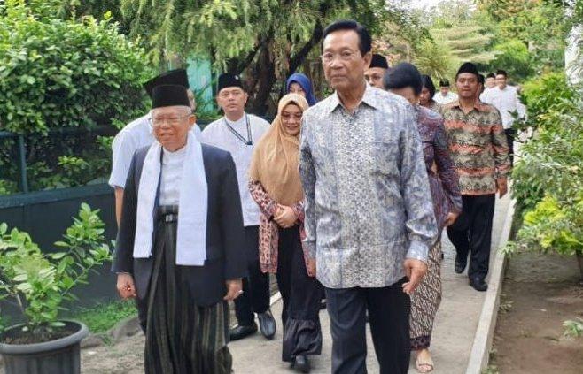 Maruf Amin dan Sri Sultan HB X Bicara Soal Demokrasi Indonesia