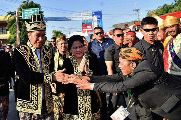 Jokowi Didoakan Raja-raja Se-Indonesia untuk Memimpin Indonesia Kembali
