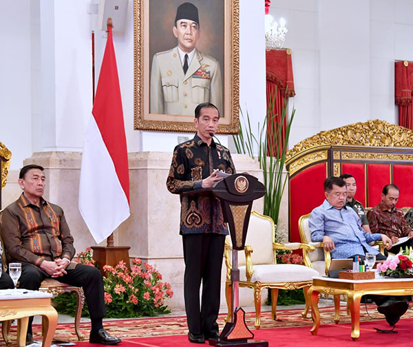 Jokowi Minta Penyederhanaan Prosedur Pencairan Dana untuk Warga Terdampak Gempa Lombok