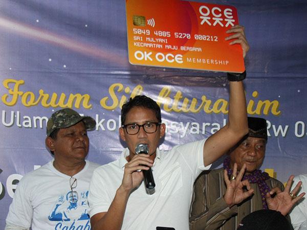 Sandiaga Akui Program OK OCE yang Diprakasainya Gagal Total
