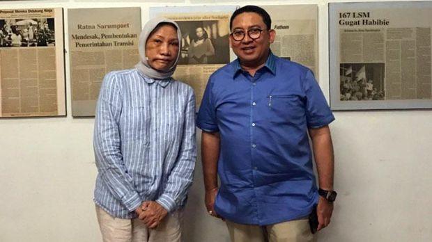 MKD DPR, Percakapan WA Ratna dan Fadli Zon, Ratna Sarumpaet