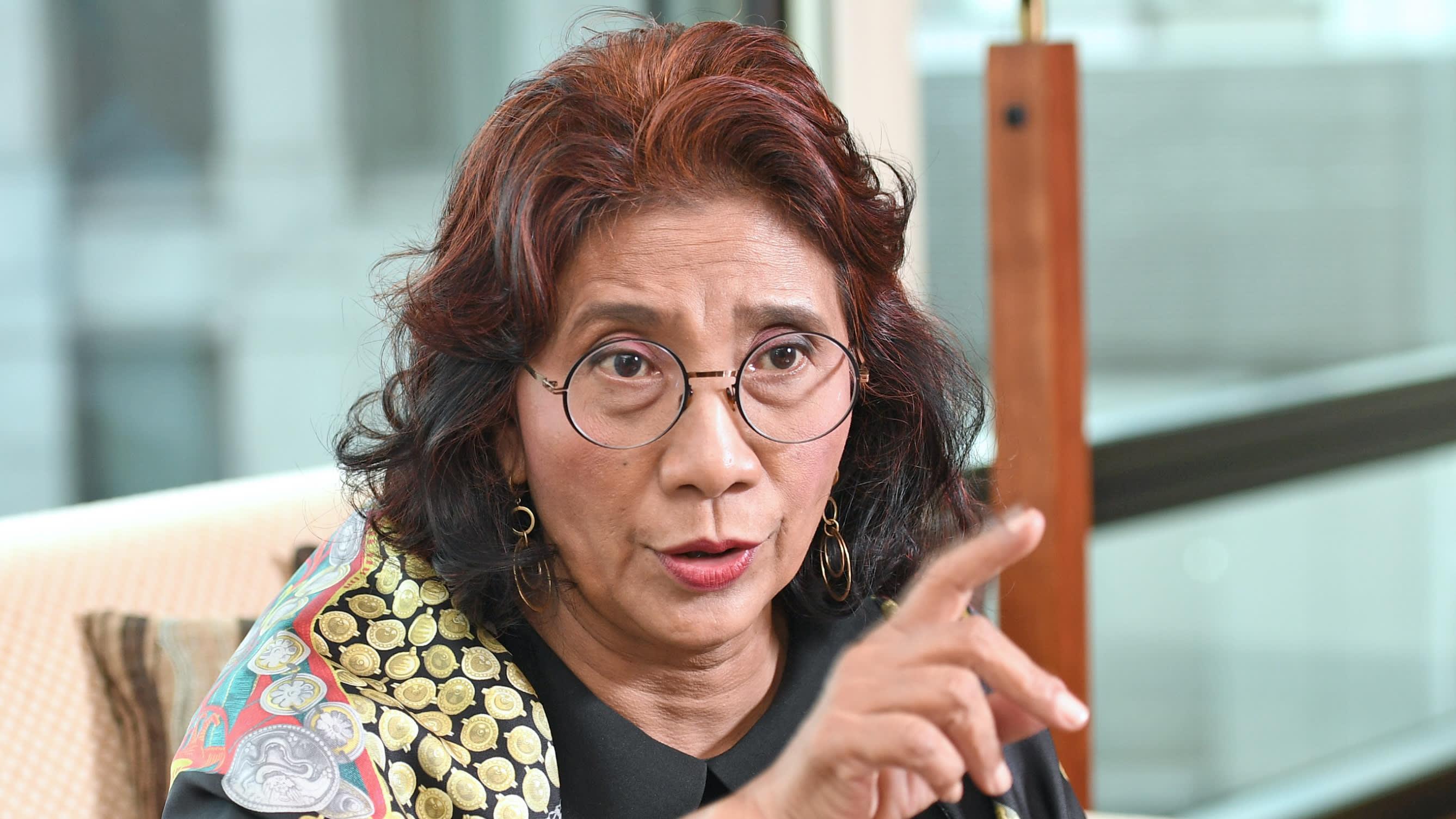 Semprot Sandi, Menteri Susi: Jangan Asal Ngomong, Baca Dulu Baru Bicara