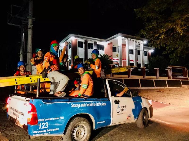 Listrik dan BBM di Wilayah Terdampak Gempa Telah Pulih