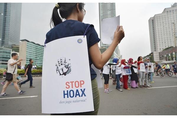 Stop Gunakan Hoaks, hoaks pemilu